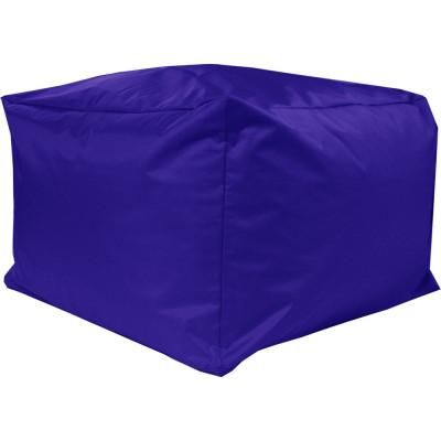 Poef Blok XXL Nylon 70x70x45 Kobaltblauw