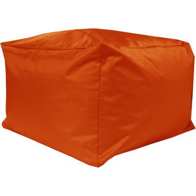 Poef Blok XXL Nylon 70x70x45 Oranje