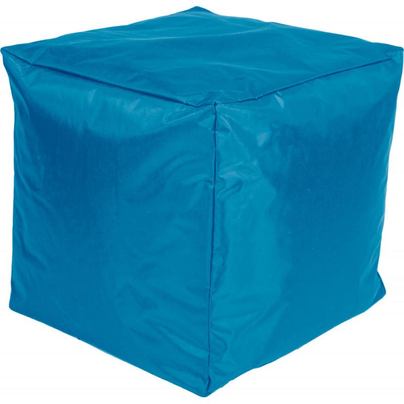 Poef Kubus Nylon 45x45x45 Turquoise